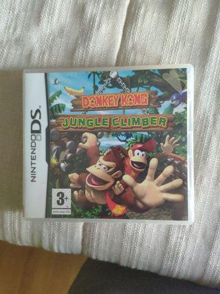 juego Donkey Kong jungle climber Nintendo DS