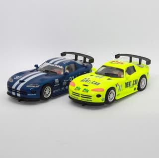 Lote 2 x Dodge Viper GTS-R (Fly Car Model)