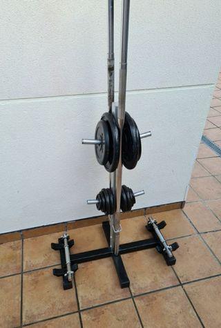 Soporte Discos Musculación (Envío gratis)