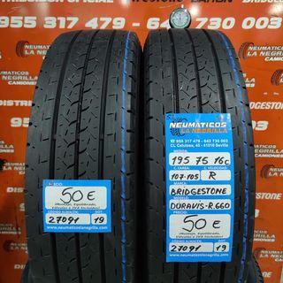 Neumaticos 195 75 16C 107-105R Bridgestone R.27091