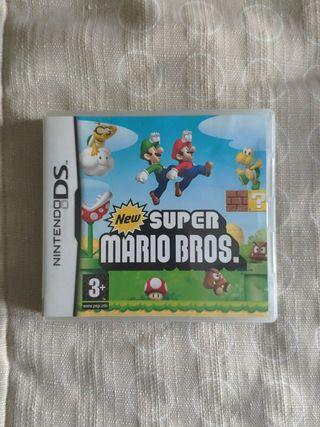 juego super Mario Bros Nintendo DS