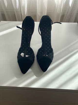 Zapatos negros T38 impecables