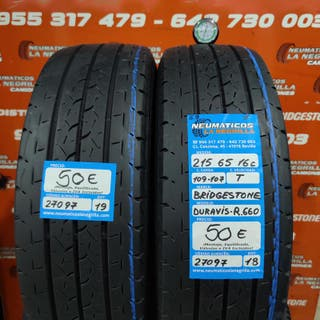 Neumaticos 215 65 16C 109-107T Bridgestone R.27097