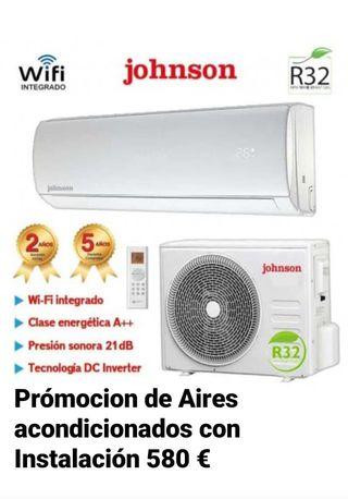 Promoción de Aires Acondiconado con instalacion