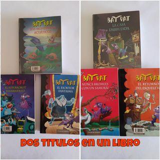 Colección libros Bat Pat. 7,95 €/UND