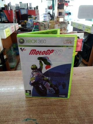 JUEGO XBOX 360 MOTO GP 07