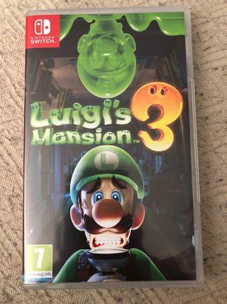 Juego Nintendo switch luigi's mansión 3