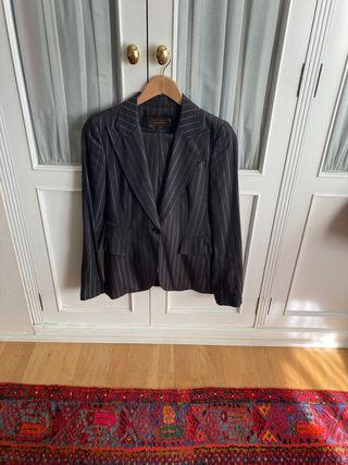 Traje de chaqueta pantalon de zara woman