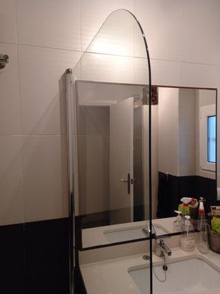 Mampara cristal de seguridad para bañera