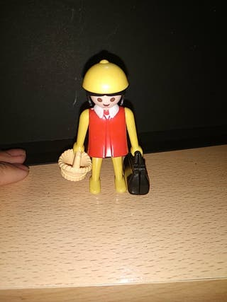 mujer Playmobil antigua