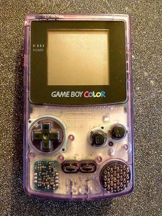 Game Boy Color Transparente NUEVA
