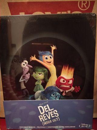Steelbook Del Reves, Inside Out de Pixar