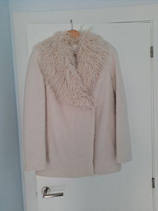 abrigo chaqueton mujer de zara