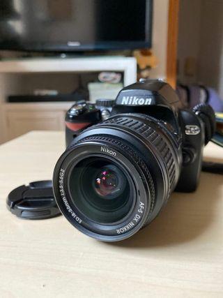 Nikon D60 con Objetivo 18-55 f/3.5-5.6G EDII