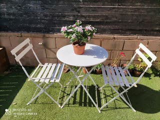Mesita terraza o jardín