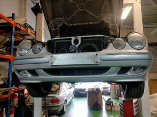 faros, capot y aletas de Mercedes w210