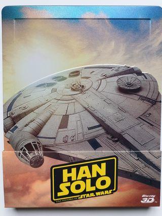 Solo una historia de Star Wars steelbook