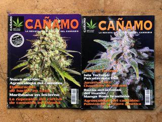 Revista CAÑAMO, 144 y 153