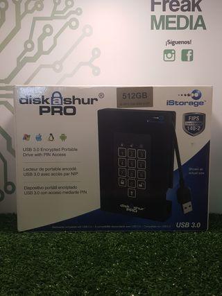 Dispositivo Portátil Encriptado USB 3.0 Diskashur