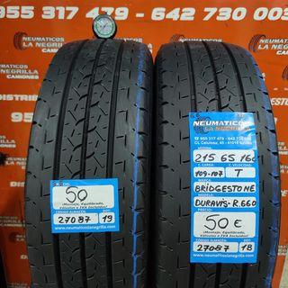 Neumaticos 215 65 16C 109-107T Bridgestone R.27087