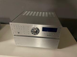 Krell S-1500 Silver , procesador Krell S 1000