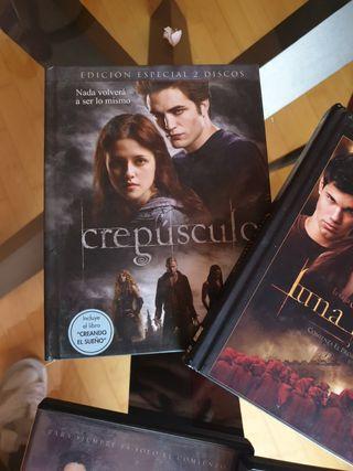 saga crepusculo DVD