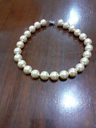 collar de perla majoricas