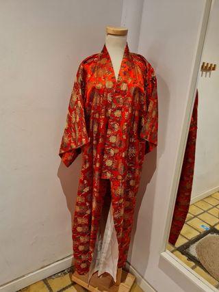 Kimono tradicional Japonés