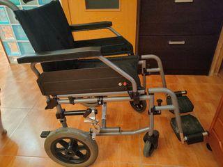 silla de ruedas+silla WC+andador