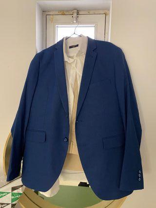 Chaqueta americana azul