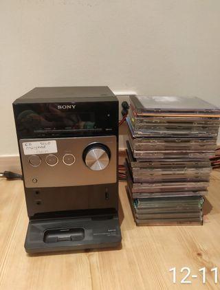 Reproductor Sony para MP3 y para CD's