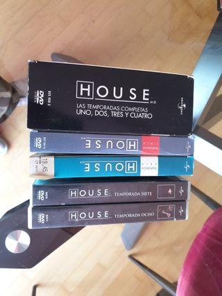 House M.D. serie completa DVD