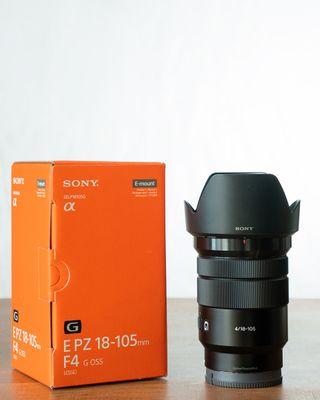 Objetivo Sony 18-105mm f/4 G OSS