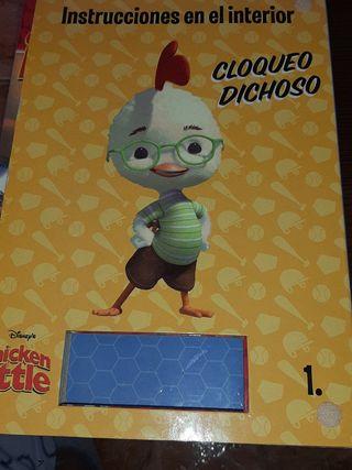 libro plantillas chicken little