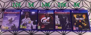 Pack juegos PS4