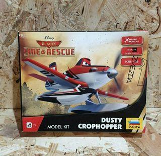 nueva precintada maqueta fire&rescue disney avion