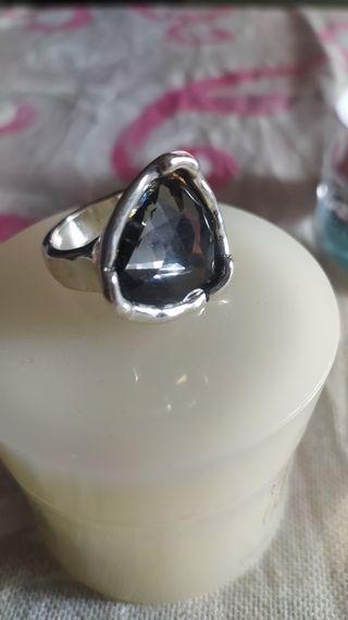 anillo estilo unode50. talla 18.