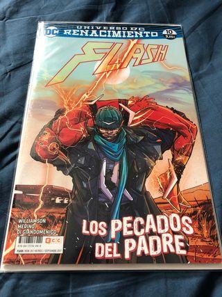 Cómic flash 24/10 los pecados del padre