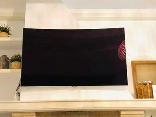 TV OLED CURVE 3D 4K LG