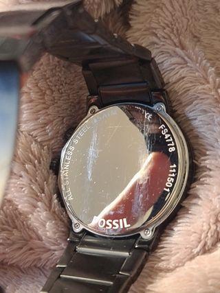 Reloj Fossil FS4778 Cronografo Analogo Negro Hombr