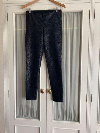 Pantalon elastico combinado polipiel TS