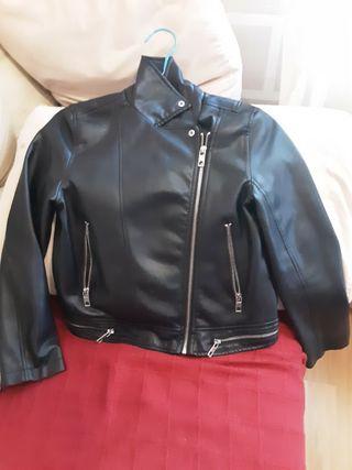 chaqueta cuero niña o mujer