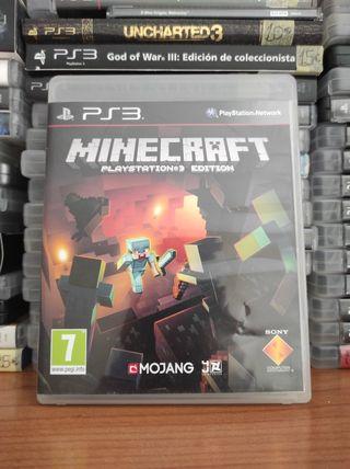 MINECRAFT PS3!!