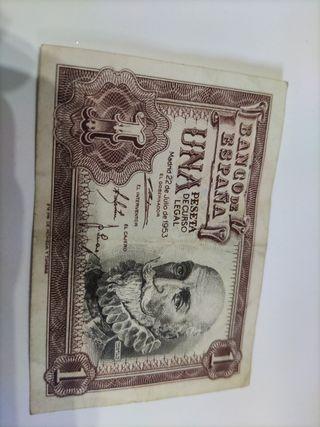 una peseta de 1953