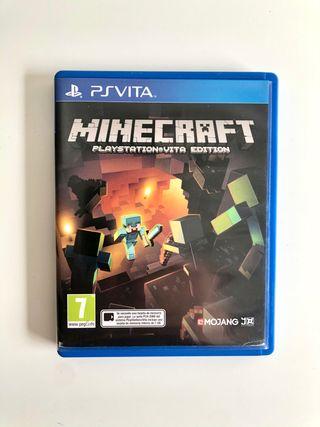 Minecraft de Sony PlayStation Vita PsVita
