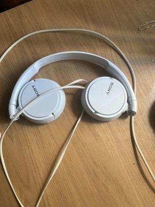 Cascos Sony con micrófono