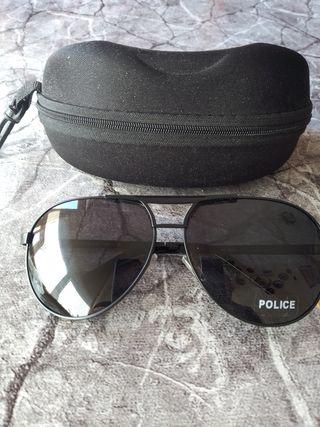 Gafas de sol nuevas Police con cristales negros