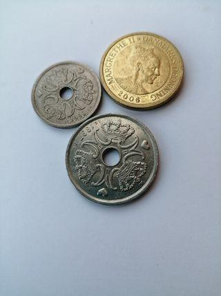 monedas de Dinamarca