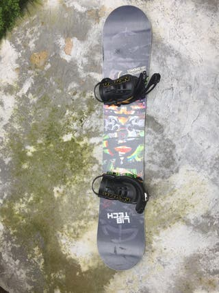 Tabla Snowboard Lib Tech TRS 157W + fij. UNION