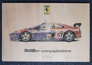 Cuadro Ferrari 348 GT Competizione.